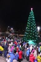 Відкриття Новорічної ялинки 2017 в селищі Слобожанське.201